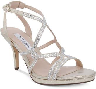 Nina Varsha Strappy Evening Sandals Women's Shoes