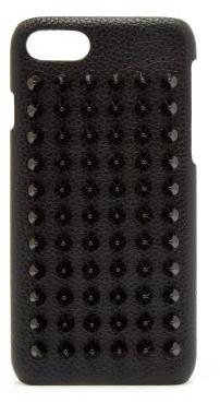 Christian Louboutin - Loubiphone Leather Iphone® 8 Case - Mens - Black