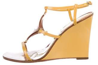 Louis Vuitton Fleur Wedge Sandals