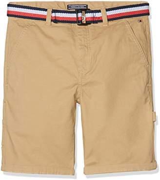 Tommy Hilfiger Boy's Belted Workwear Short Powsc Pd