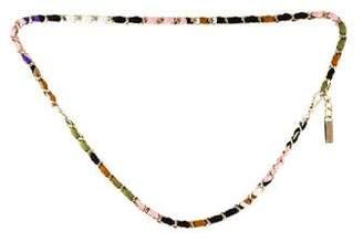 Emilio Pucci Skinny Chain-Link Belt