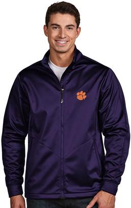 Antigua Men's Clemson Tigers Waterproof Golf Jacket