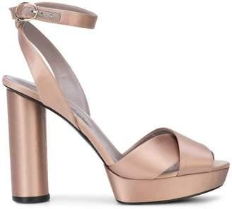 Oscar de la Renta ankle strap platform sandals