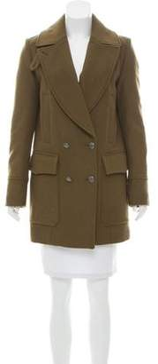 Belstaff Structured Wool-Blend Coat w/ Tags