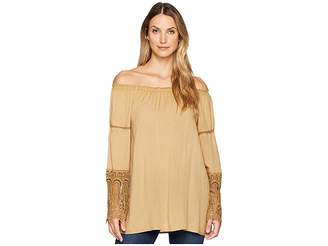 Scully Bardot Elegant Off the Shoulder Blouse