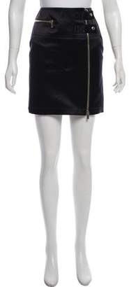 Michael Kors Satin Mini Skirt