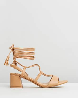 Missguided Ghillie Block Heels