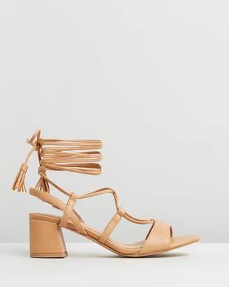 Missguided Ghillie Block Heels