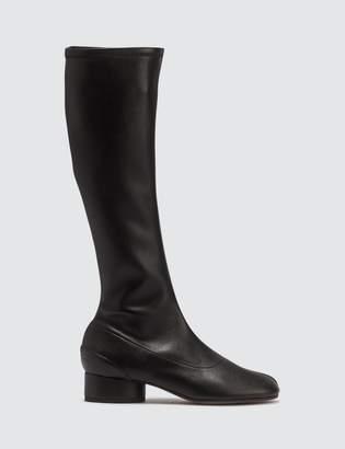 Maison Margiela Stretch Leather Long Boots