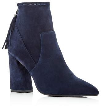 Kenneth Cole Women's Gracelyn Suede High Heel Booties