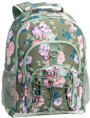 Pottery Barn Teen Gear-Up Olive Garden Party Floral Backpack