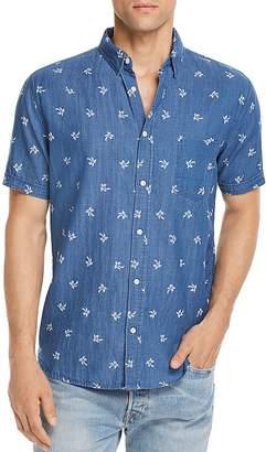 Rails Carson Indigo Tropical Button-Down Shirt