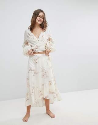 Billabong Wrap Beach Skirt Co-Ord