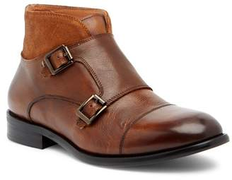 Vintage Foundry Richard Double Monk Strap Leather Boot