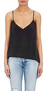 L'Agence Women's Jane Washed Silk Cami - Black