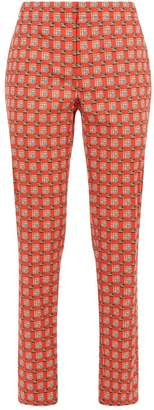Burberry Equestrian Check Tailored Trousers