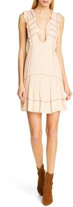 BA&SH Nox Sleeveless Peasant Minidress