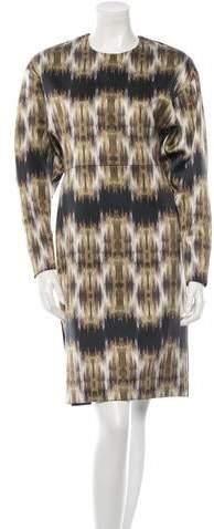 CelineCéline Digital Print Dress w/ Tags