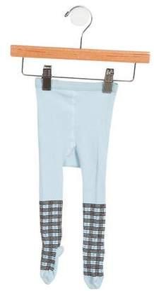 Burberry Girls' Nova Check Knit Tights