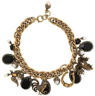 Alexander McQueen Charm necklace