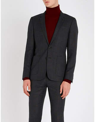 Sandro Single-breasted wool jacket