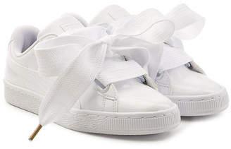 Puma Basket Patent Sneakers