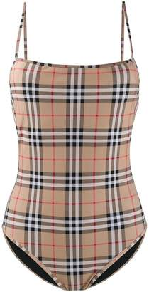 Burberry House Check swimsuit