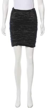 Yigal Azrouel Gathered Mini Skirt