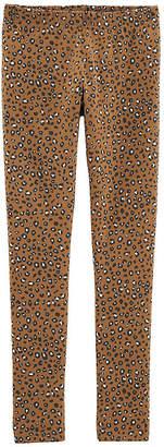 Carter's Psg Gold Leopard Print Legging Knit Leggings Girls
