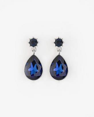 Le Château Gem Teardrop Earrings