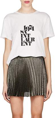 "Saint Laurent Women's ""1971 Cotton T-Shirt"
