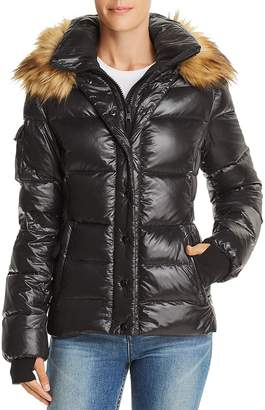 Aqua Faux Fur-Trim Puffer Jacket - 100% Exclusive