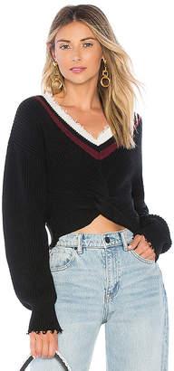 Alexander Wang Twist Front Sweater