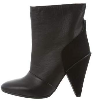 See by Chloe Pointed-Toe Ankle Boots