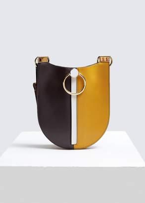 Marni Front Zip Shoulder Bag