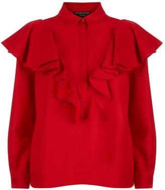 Mother of Pearl Shay Ruffled Shirt