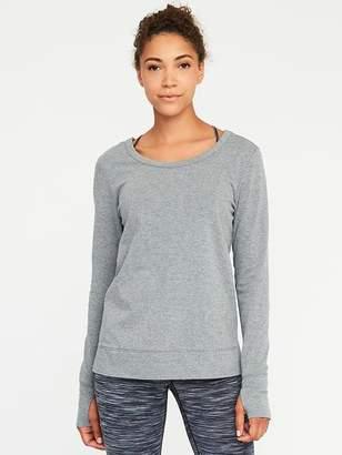 Old Navy Lattice-Back Sweatshirt for Women