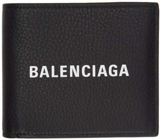 Balenciaga (バレンシアガ) - Balenciaga ブラック ロゴ エブリデイ ウォレット