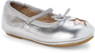 Old Soles Toddler Girls) Silver & Copper Cruise Star Ballet Flats