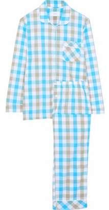 Three J NYC Jamie Cotton-Poplin Pajama Set