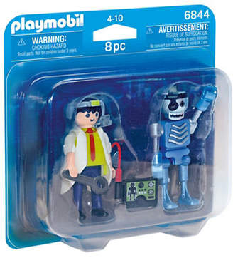 Playmobil Scientist and Robot Duo Pack