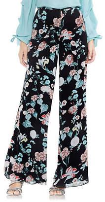 Vince Camuto Floral Garden Wide-Leg Pants
