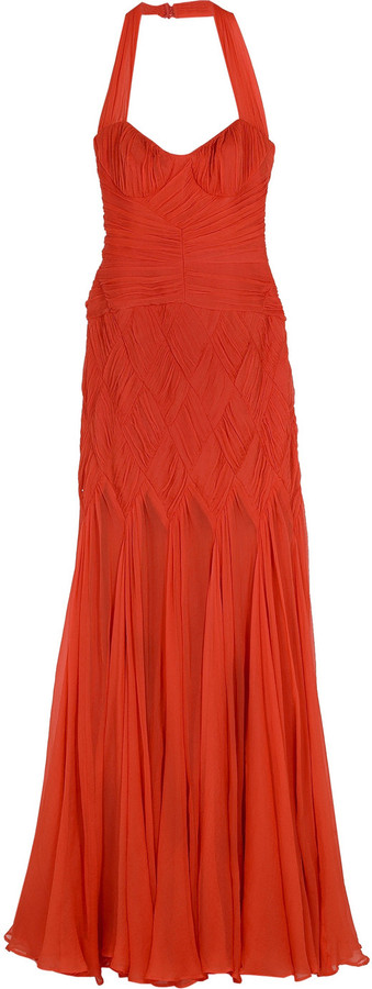 Temperley London Lucilla halter gown