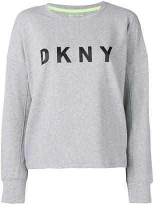 DKNY logo print sweatshirt