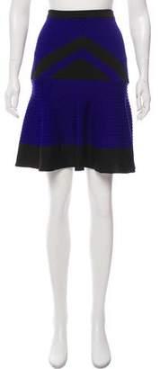 Ohne Titel Pleated Knee-Length Skirt