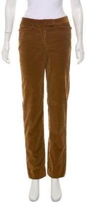Loro Piana Corduroy Straight-Leg Pants Brown Corduroy Straight-Leg Pants