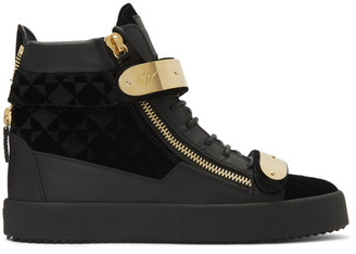 Giuseppe Zanotti Black Suit May London Sneakers