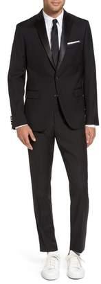 Blend of America Calibrate Trim Fit Wool Tuxedo