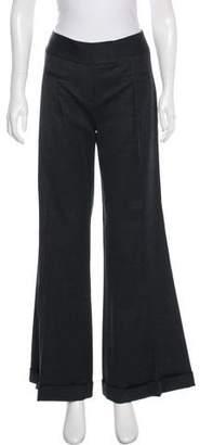Diane von Furstenberg High-Rise Wool Pants