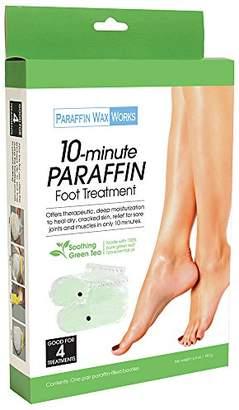 Paraffin Wax Works Tea Foot Treatment